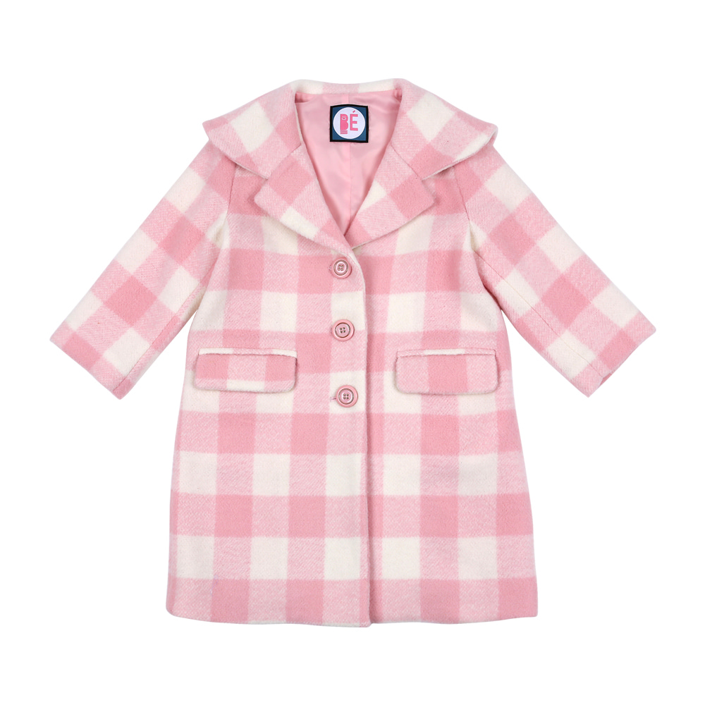 [LIMITED EDITION] Gingham checked coat