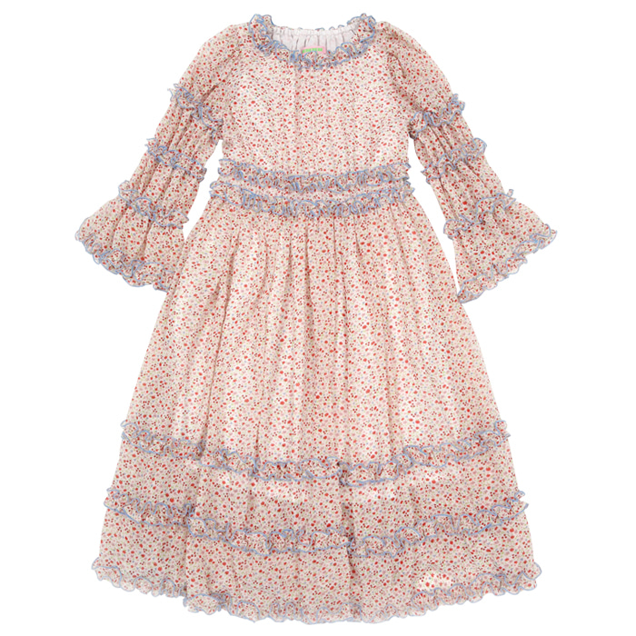 [카드결제만가능][B품 50% SALE] Little lady's chiffon sleeping dress