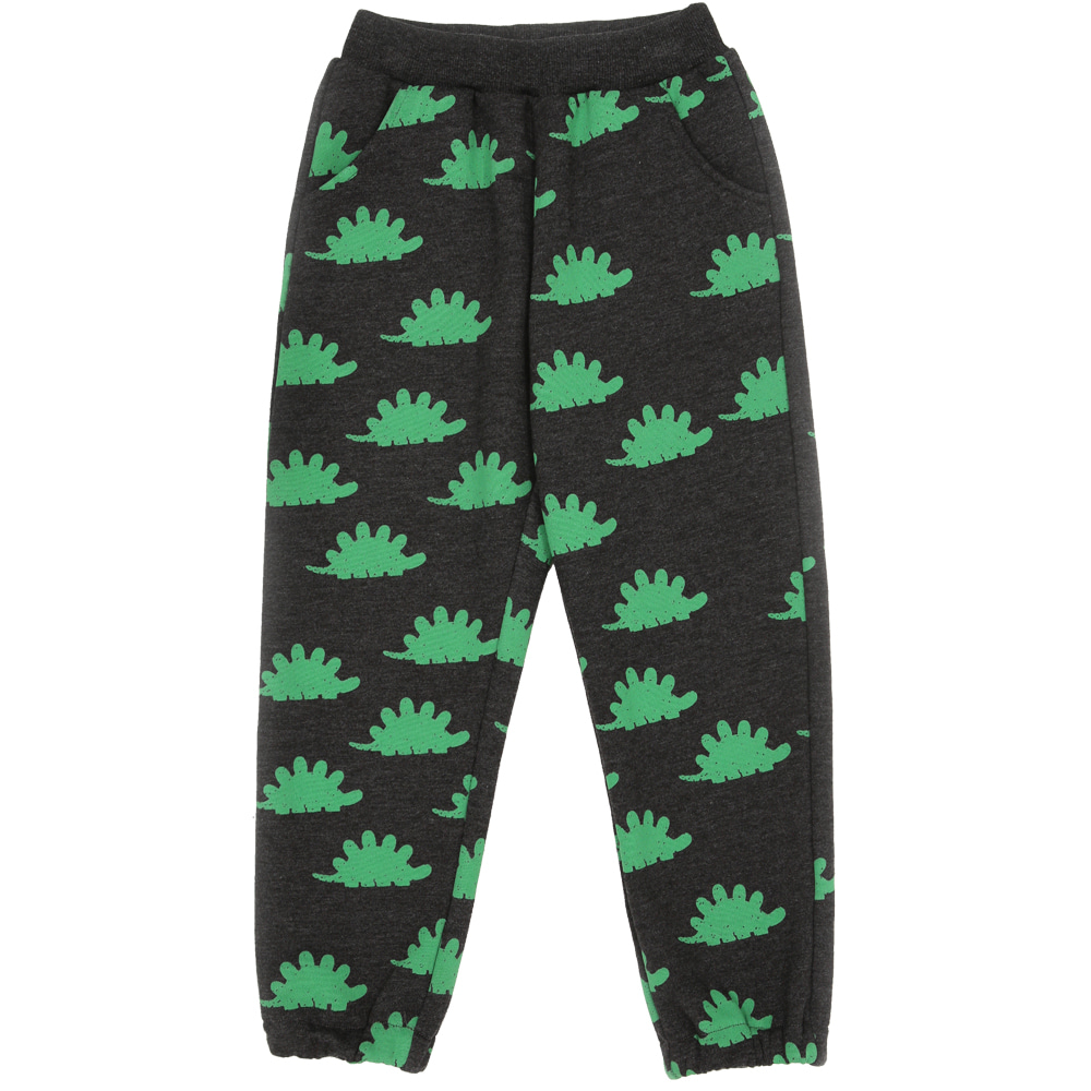 [바로배송]  Green dinosaur training pants