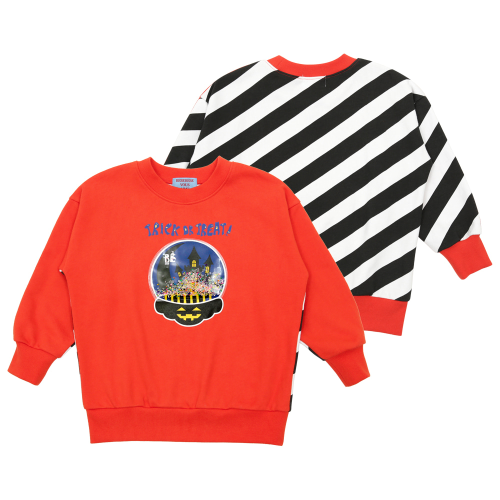 [프리오더 10% 할인적용 38,000→34,200] 2020 HALLOWEEN EDITION sweatshirt (KIDS)