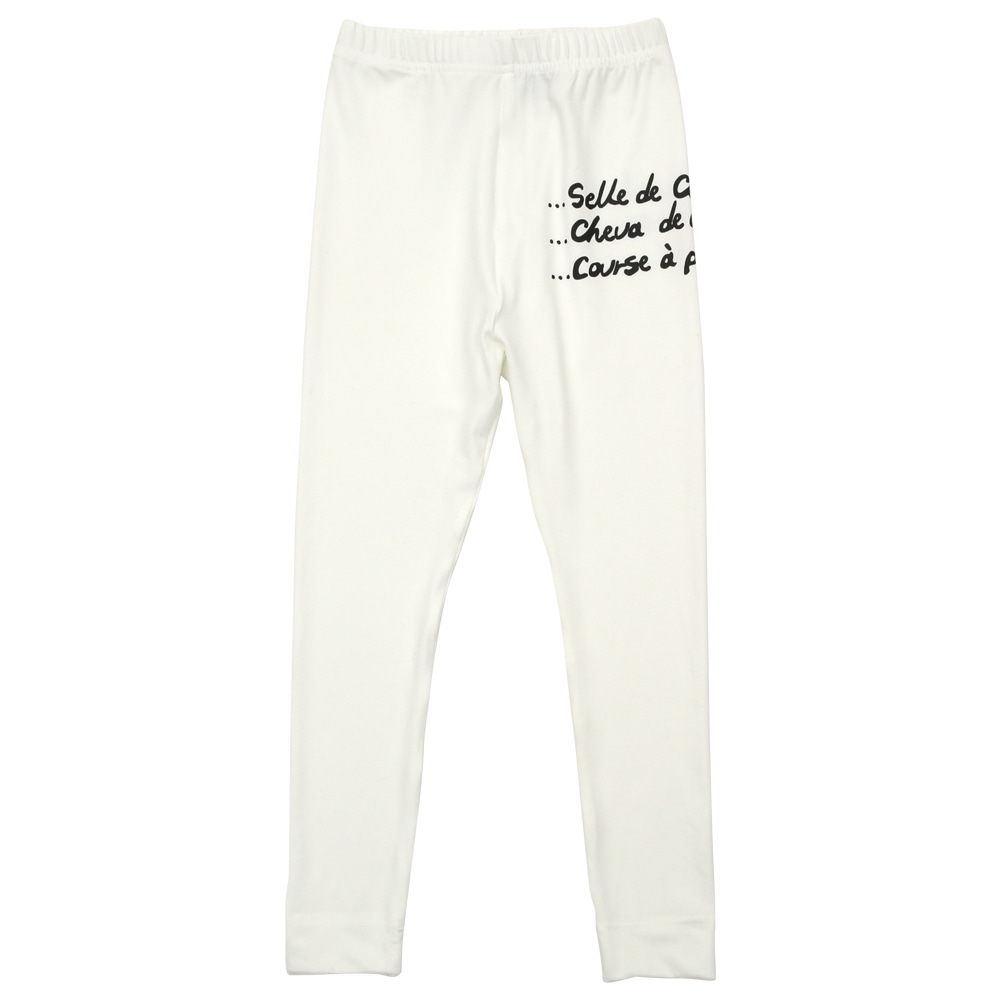 BEBEBEBE warm heat inner wear pants (IVORY)