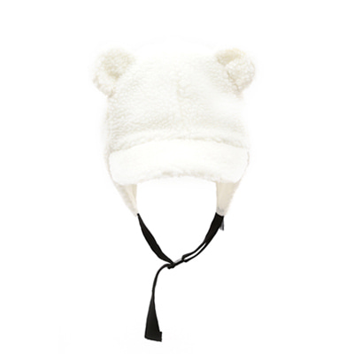 BEAR CAP (white)