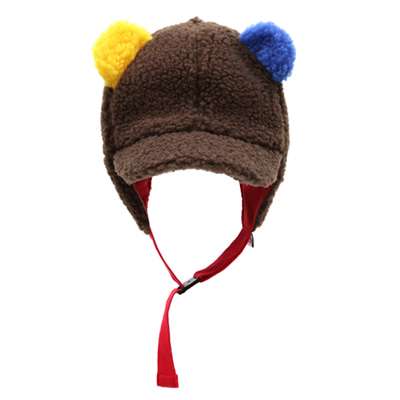 [바로발송] BEAR CAP(brown)