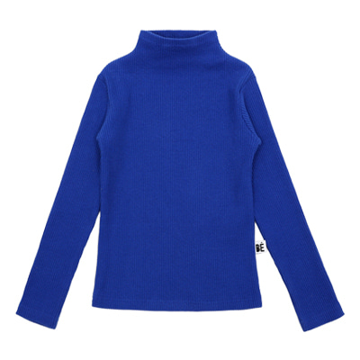[바로발송] BEBEBEBE TURTLE NECK T-SHIRT(blue)