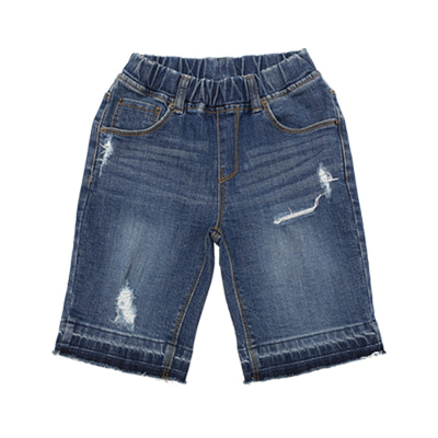 [마지막 여유수량] BEBEBEBE denim short pants