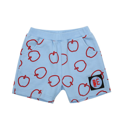 [여유수량판매] Summer apples cotton pants