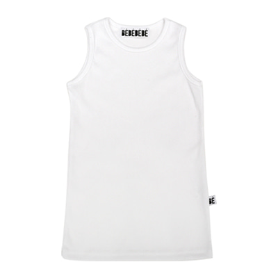 [B품 50% SALE 16,000→8,000]  BE sleeveless top (white)