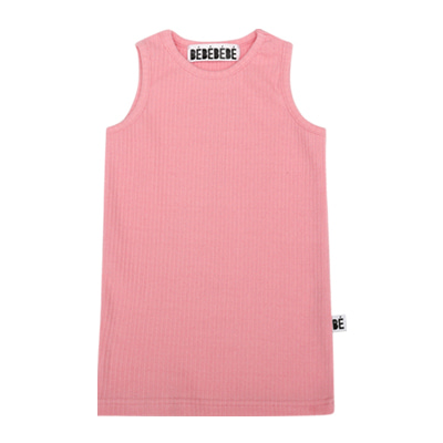 [B품 50% SALE 16,000→8,000]  BE sleeveless top (pink)