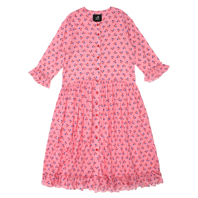 [222.A] Lollipop cerise robe dress (adult)