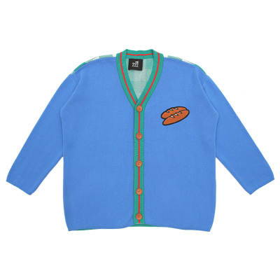 [222.A] Baguette cotton knitted cardigan (ADULT)
