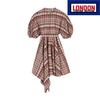 [LONDON EDITION] Checked dress