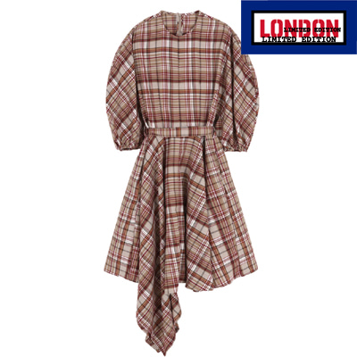 [LONDON EDITION] 222.A Checked dress (adult)