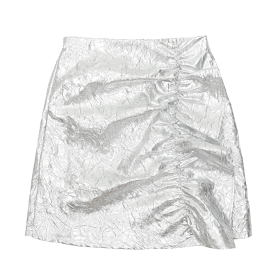 [222.A] ADULT SILVER SKIRT