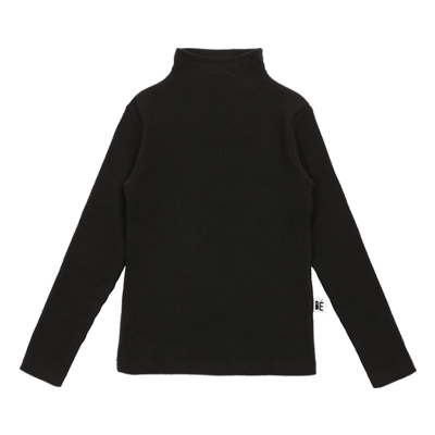 [바로발송] BEBEBEBE TURTLE NECK T-SHIRT (black)