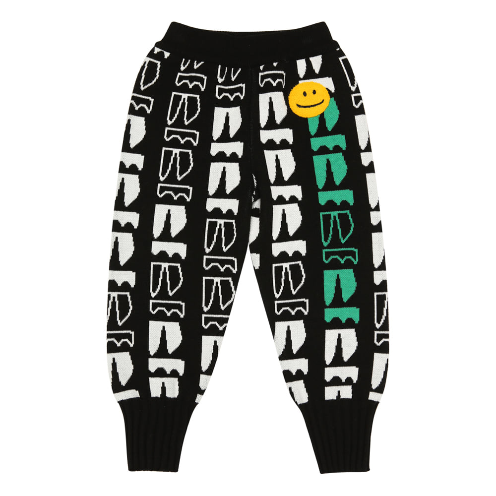 [바로배송] BEBEBEBE new logo knitted pants