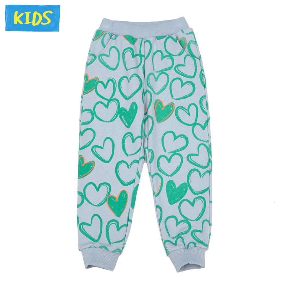 [프리오더 10%할인적용 27,000→24,300] Mint heart training pants