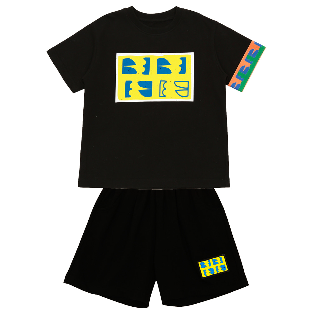[프리오더 20% 할인적용 53,000→42,400] Summer new logo set up (BLACK)